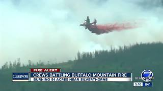 Crews responding to Buffalo Fire near Silverthorne; residents asked to evacuate - Video