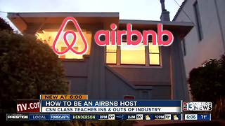 CSN offering 'Airbnb' courses for prospective short-term renters - Video