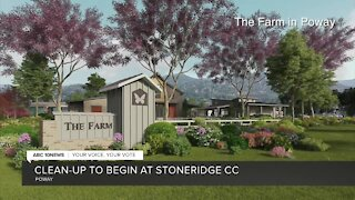 Clean-up to begin at Stoneridge Country Club