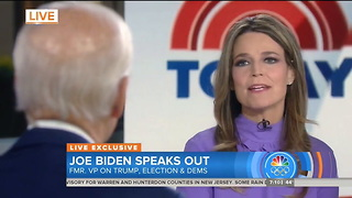 Biden Refuses to Rule Out 2020 Presidential Run — And NBC Couldn't Be More Excited - Video