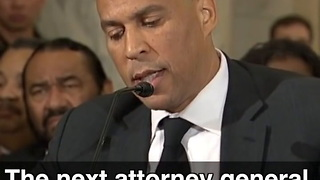 Cory Booker Testifies Against AG Jeff Sessions After Being Honored To Work With Him - Video