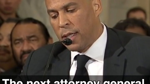 Cory Booker Testifies Against AG Jeff Sessions After Being Honored To Work With Him