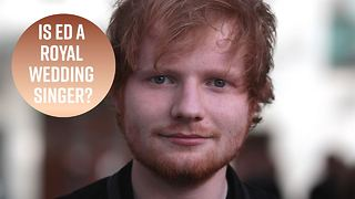 Ed Sheeran Expressed Interest In Performing At The Royal Wedding - Video