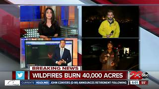 Wildfires continue to rage in Southern California - Video