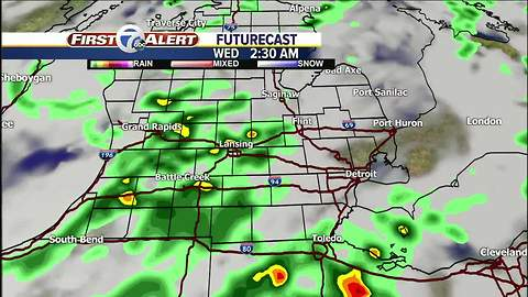 Strong storms possible