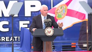 Vice President Mike Pence campaigns in Miami