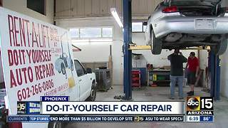 Do-it-yourself car repair shop can save you serious cash - Video