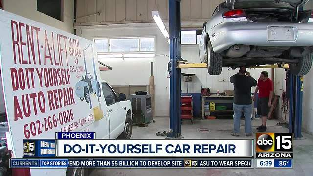 Do it yourself car repair shop can save you serious cash rumble solutioingenieria Image collections