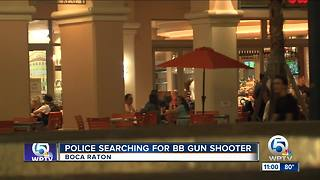 Boca Raton police searching for BB gun shooter - Video