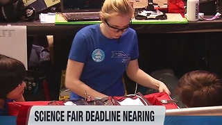 December 16 science fair deadline looms - gateway to national competition with millions in prizes at stake - Video