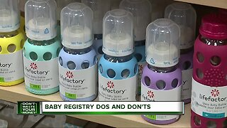 Don't Waste Your Money: Baby registry dos and don'ts
