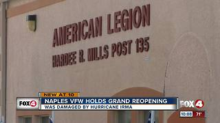Naples American Legion Post looks to rebound after Irma