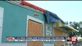 Popular Tampa Bay cafe raising money to help staff post-Irma - Video
