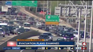 Florida officials defend massive evacuation traffic plans - Video