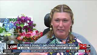 Woman shares disability employment story
