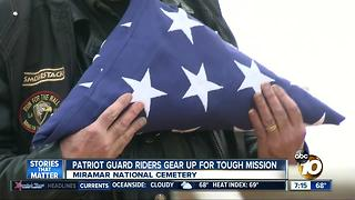 Patriot Guard Riders are rocked by a mission close to their hearts - Video