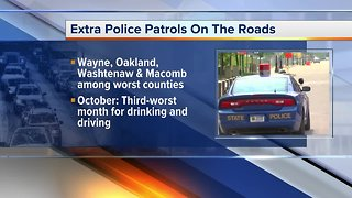 October is a deadly month in Michigan for drivers, police trying to change that - Video