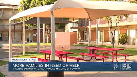More families looking for places to stay as unemployment rises
