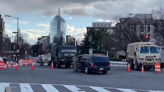Military Police Checkpoints in U.S. Capitol, DC Under Military Occupation