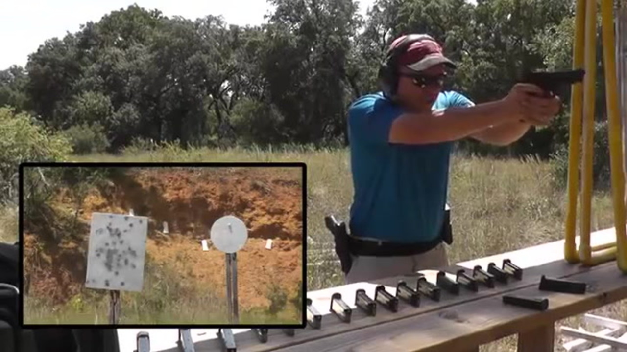 Shooting 100 Rounds Per Minute Out of a Beretta 92