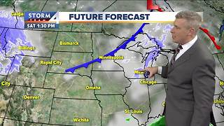 Cold tonight and Friday, warmer temps this weekend - Video