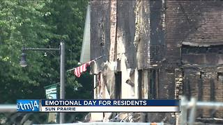 Sun Prairie residents visit site of explosion - Video