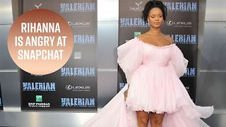 Rihanna accuses Snapchat of promoting domestic violence - Video