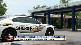 New plan guarantees an armed first responder at every Hillsborough Co. school - Video