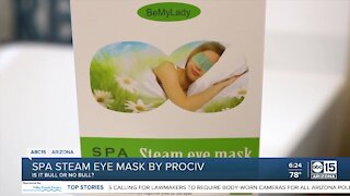 Does the Spa Steam Eye Mask really work?