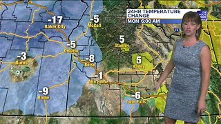 Temperatures tumble this week with valley rain and mountain snow showers - Video