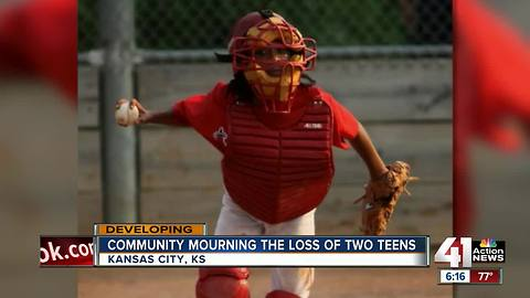 Community mourns loss of 2 teenagers