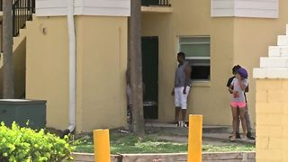 Irma causes problems at Stonybrook apartments in Riviera Beach - Video