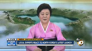 Local experts react to N. Korea's latest launch - Video