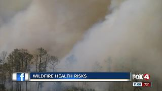 Wildfire health issues - Video