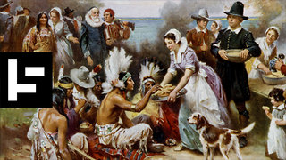 The Friendly Native Responsible for the First Thanksgiving - Video