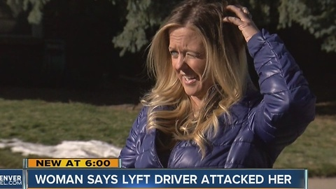 Lyft driver assaults woman in Denver