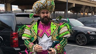 Jason Kelce Loses His Sh*t During Eagles Championship Parade Speech - Video