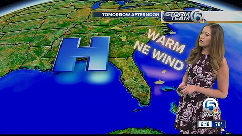 South Florida weather 4/21/19 - evening report