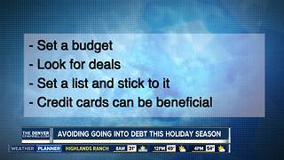 4 ways to avoid holiday debt - Video