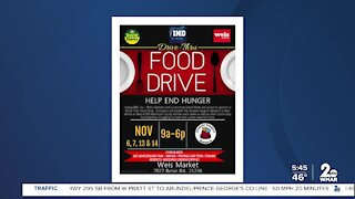 Food drive in Baltimore County to help children living in poverty