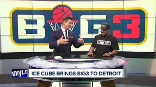 Ice Cube brings Big3 to Detroit - Video