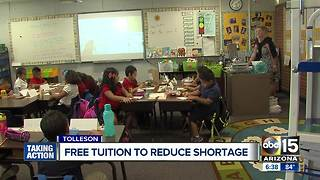 Free tuition being given out to potential teachers in Valley - Video