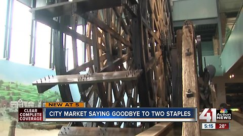 City Market saying goodbye to two staples