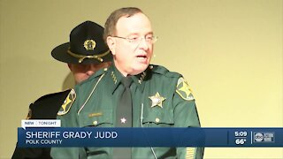 Sheriff Grady Judd makes Polk County history as he's sworn in for his 5th term
