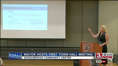 Mayor Stothert hosts first Town Hall meeting