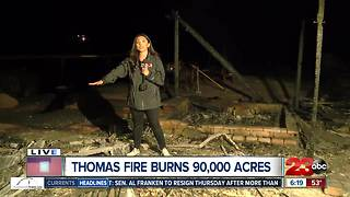 Firefighter loses his own home to Thomas Fire - Video