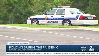 Policing during the pandemic
