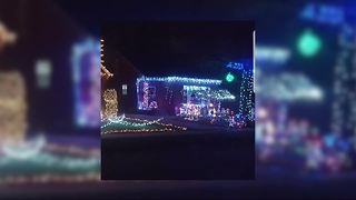 Real-life grinch steals Christmas decorations from 2 metro Detroit families - Video