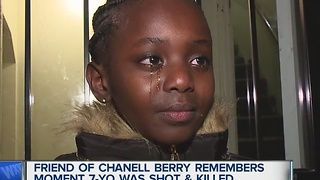 Young girl pleads for answers in shooting - Video