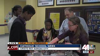 Catholic Schools Week at Cristo Rey - Video